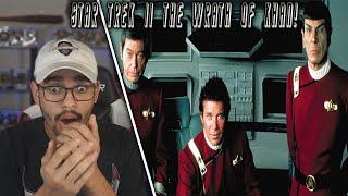 Star Trek II: The Wrath of Khan (1982) Movie Reaction! FIRST TIME WATCHING!
