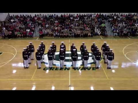Silent Drill Platoon At Gallatin High School 2016