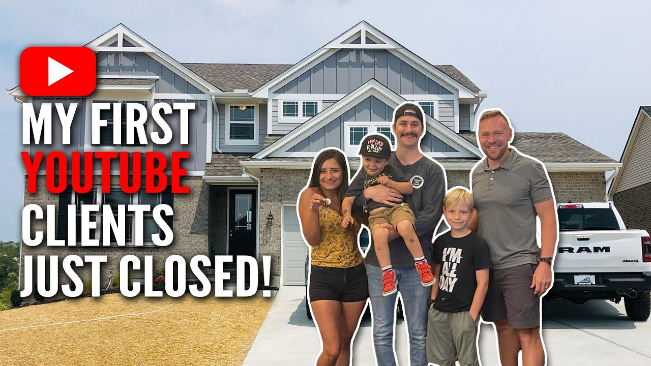 My First YouTube Clients Just Closed on a NEW House! 🎉