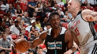 Summer League: Charlotte Hornets vs Houston Rockets