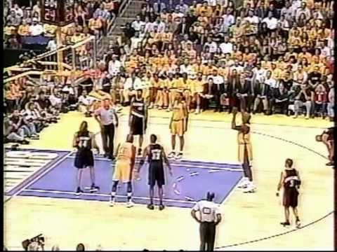 2000 Blazers Lakers Game 7 (Pt 1) - YouTube