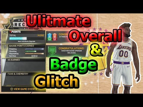 Ultimate Overall & Badge Glitch Works After Patch 1.03 For Xbox 1 on NBA 2K20