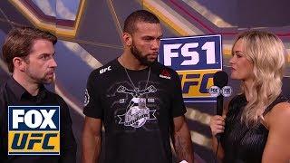 Thiago Santos talks to Laura Sanko   INTERVIEW   UFC FIGHT NIGHT
