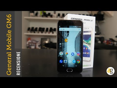 RECENSIONE ANDROID ONE General Mobile GM6