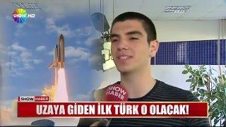 Uzaya giden ilk türk o olacak!