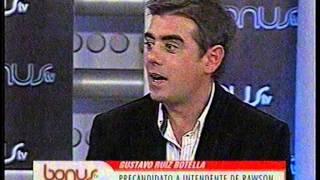 Gustavo Ruiz Botella Programa Bonus Tv Canal 8 San Juan