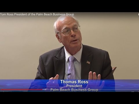 Tom Ross President of the Palm Beach Business Group