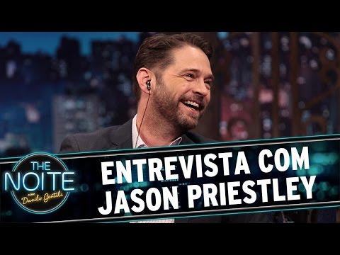 The Noite (22/03/16) - Entrevista com Jason Priestley
