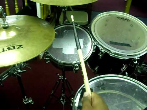 church drum set tour youtube. Black Bedroom Furniture Sets. Home Design Ideas