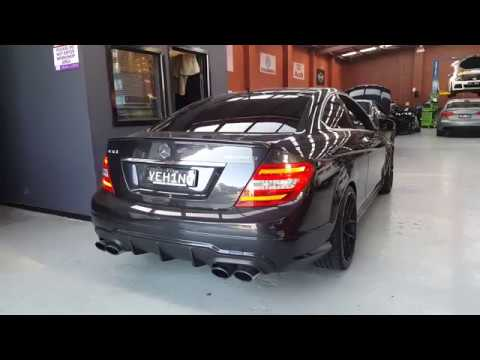 Mercedes Amg W204 C63 Armytrix Exhaust Mods Best Tuning
