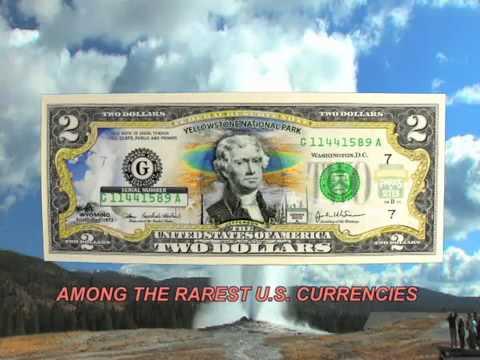 New England Mint's Yellowstone National Park $2 Bill - Official Site - Parkbills.com