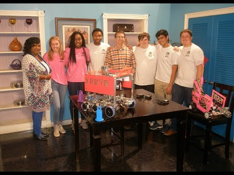 Straight Forward with Gloria Strode and the Brookstone School Robotics Club