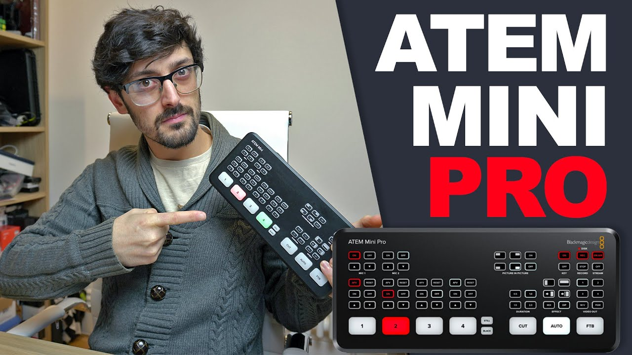 Blackmagic Atem Mini Pro Everything You Should Know Youtube