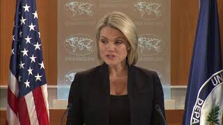 Department Press Briefing - December 5, 2017