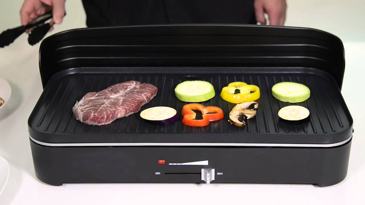 Barbecue lectrique de table youtube - Grill electrique de table ...