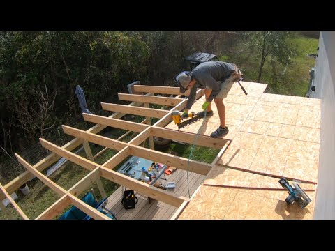 DIY Patio Roof Build