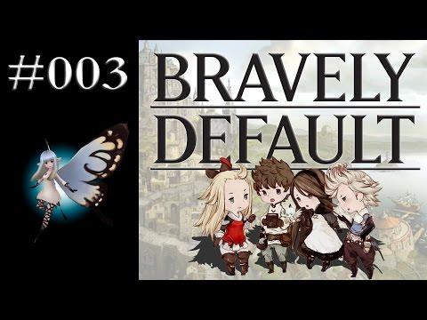 Let's Play Bravely Default #003 - Schaffe, schaffe, Dörfle baue! [GERMAN/DEUTSCH]