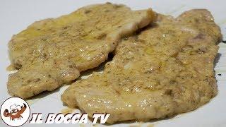 575 - Scaloppine senape e mostarda...l'appetito non tarda! (secondo di terra facile e sfizioso)
