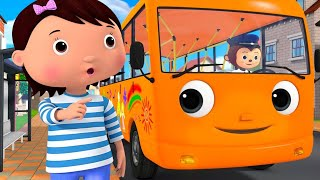 Color Bus Song! Bus Songs! | +More Nursery Rhymes & Kids Songs | ABCs and 123s | Little Baby Bum