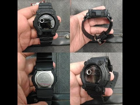 G Shock G-7900 (Wanna Be) Digitec 2005 Unboxing & Review (Bahasa Indonesia)