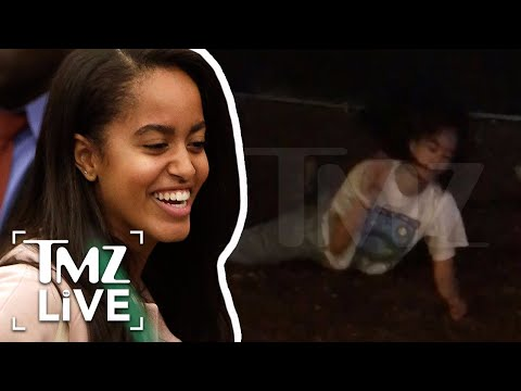 Malia Obama Raged At Lollapalooza | TMZ Live