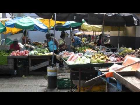 castries craft market st lucia