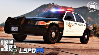 GTA 5 LSPDFR #45 - Fort Worth Police Department