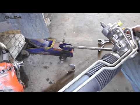 Замена рулевой рейки, наконечника и сайлентблоков рулевых тяг Opel Vectra