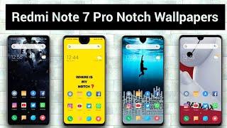 Redmi Note 7 Pro Notch Wallpapers | Hide Notch On Redmi Note Series | Notch Wallpapers