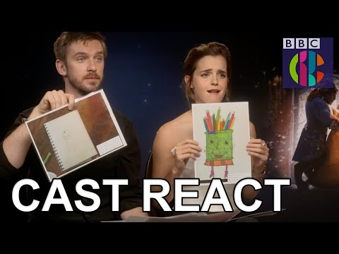 Thumbnail: Beauty and the Beast cast react to fan art! | CBBC