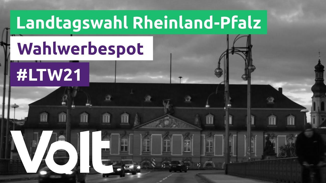 YouTube: Volt Rheinland-Pfalz Wahlspot zur Landtagswahl 2021: Zukunft #MadeInEurope
