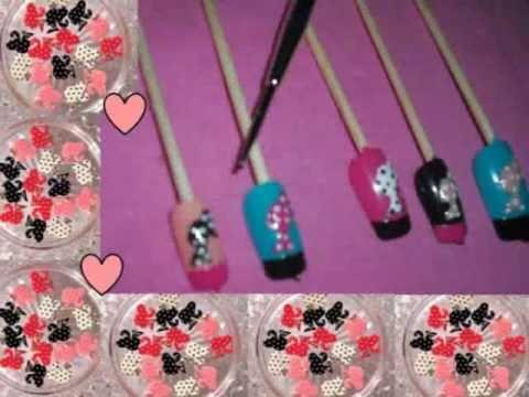 Barbie nail art youtube barbie nail art prinsesfo Choice Image