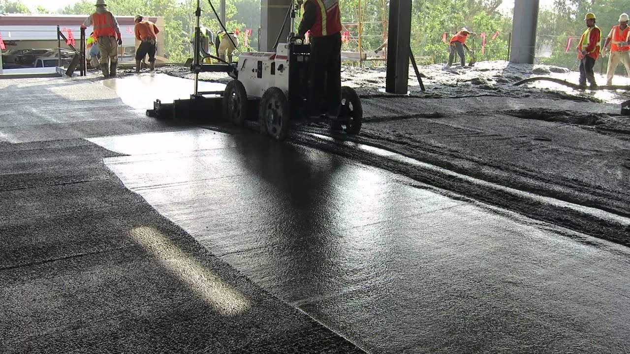 Somero S840 On Metal Deck Laser Screed Technicon Laser