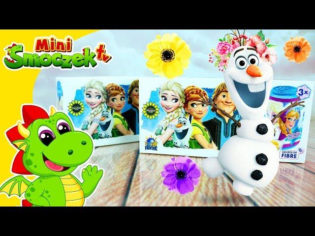 Olaf z Krainy Lodu i Jajka Niespodzianki | Zabawki Bajki Dla Dzieci Po Polsku