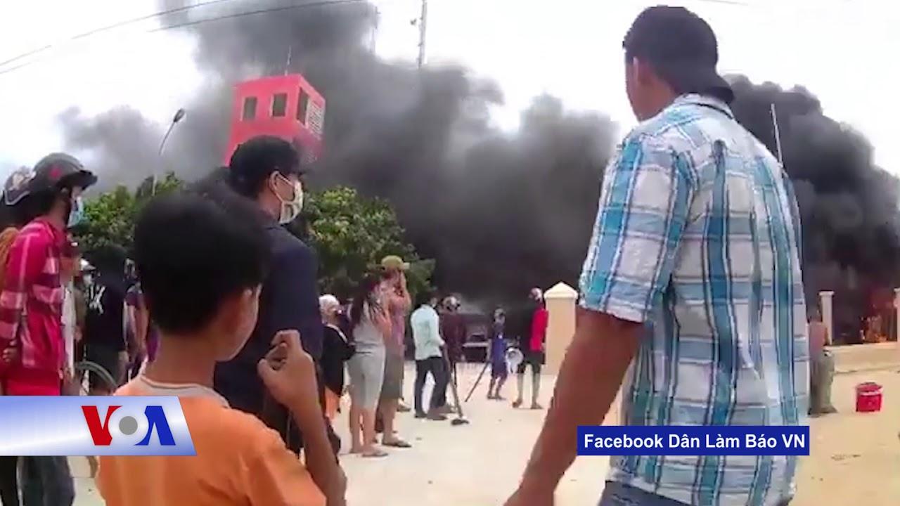 Dân Bình Thuận cảnh báo 'lại biểu tình' nếu bị 'truy bắt' (VOA)