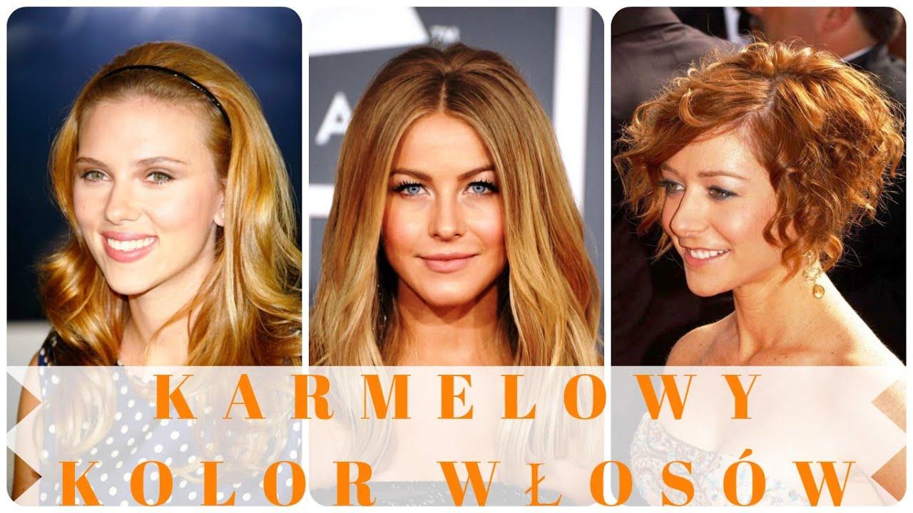 Karmelowy Kolor Włosów