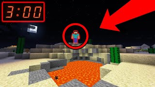 千万不要在凌晨3点玩Minecraft!!!Herobrine都市传说!!!【都市传说/挑战】【Herobrine】我竟然在世界中遇到了Herobrine,结果...