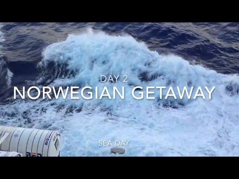 Norwegian Getaway Day 2 - At Sea