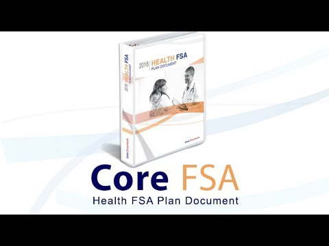 $129 Health FSA Plan Document for Tax-Free Benefits  by Core Documents