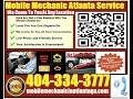 Mobile Mechanic Garage Shop On Wheels Atlanta 404-334-3777