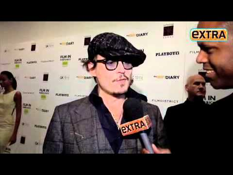 Johnny Depp -The Rum Diary NY Premiere (ExtraTV)