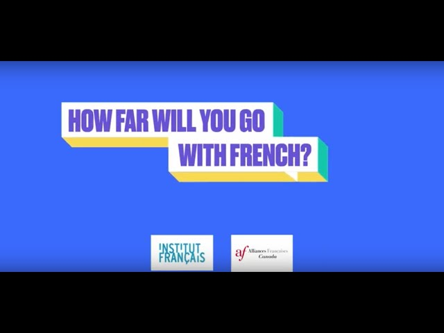 Andrea Lindsay - HOW FAR WILL YOU GO WITH FRENCH? #plusloin