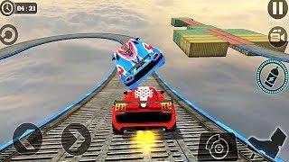 Impossible Car Vs Car Stunt Battle Race Game || Car Vs Car Game || Car Games || #Car Stunt Driving