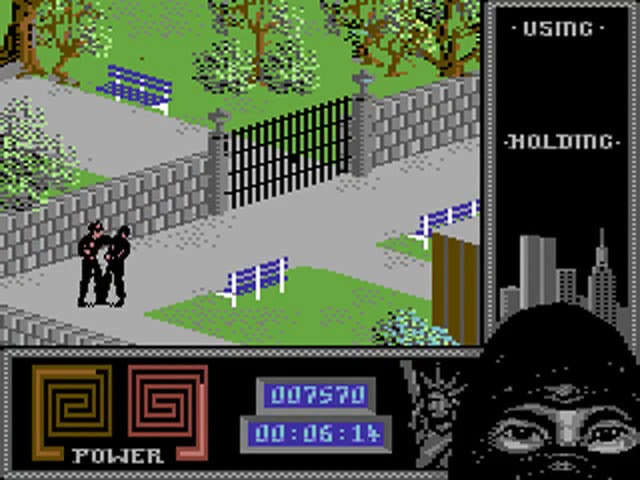 Jouez à Last Ninja II sur Commodore 64
