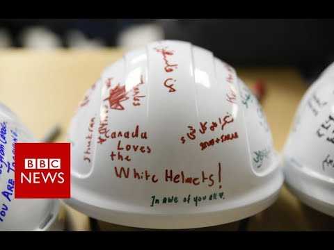 UK rehomes some 100 Syria White Helmets and family members - BBC News