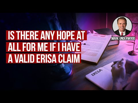 Is there any hope if i have a valid ERISA claim in Texas?