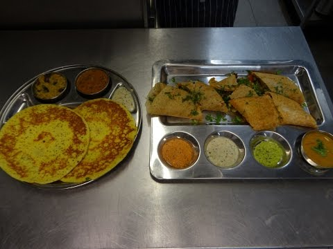 Indian Street Food: Set Dosa & Spring Dosa at Sangeetha Vegetarian Restaurant, Hounslow West, London