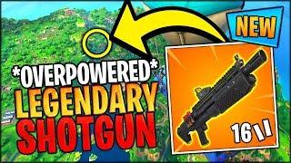 NEW OVERPOWERED HEAVY SHOTGUN WINNER GAMEPLAY // Fortnite Battle Royale