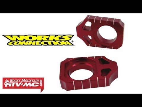 Works Connection Motorcycle Axle Blocks