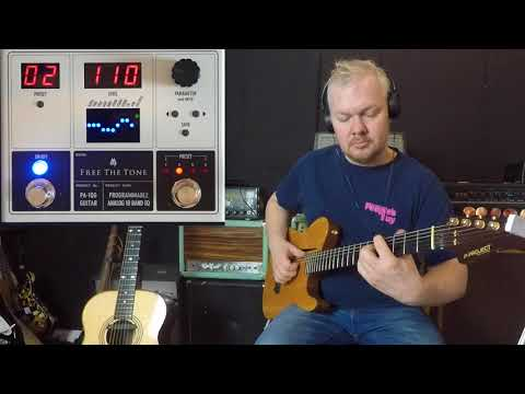Free The Tone / Programmable Analog 10 Band EQ for Nylon and Acoustic Guitar